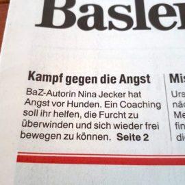 Heute titelt die Basler Zeitung BaZ zum Thema Canophobie