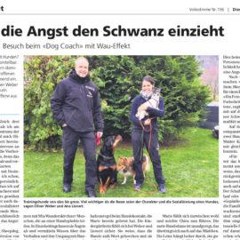Presse: Kein Stress mehr mit Hunden
