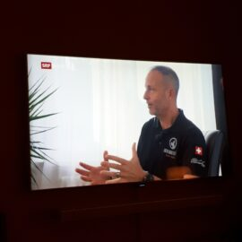DOG COACH im Interview im SRF 10 vor 10